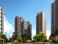 二桥区域 首付10多万 准现房 户型极好小区占地面积大 东岸华庭 奥林阳光背后