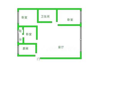 二桥片区 花园小学学区房 精装自住 家具家电齐全 拎包入住 没有高价税 看房方便
