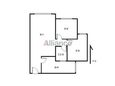 滨江华城电梯房,售价46万。,可小刀