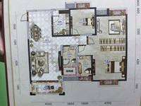出售电梯新房3室2厅2卫117平米58万住宅