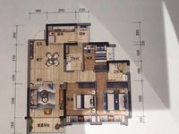 出售明月岛附近精装三室、期房。首付三层