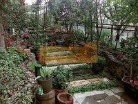 带80平米独立露台 花园已经全部做好
