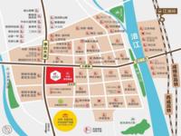 三桥片区宝龙广场一手商业低价出售 户型格局方正大小户型均有