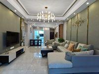 西山片区高端小区豪华装修实际125平方,品牌家具家电,欢迎面谈